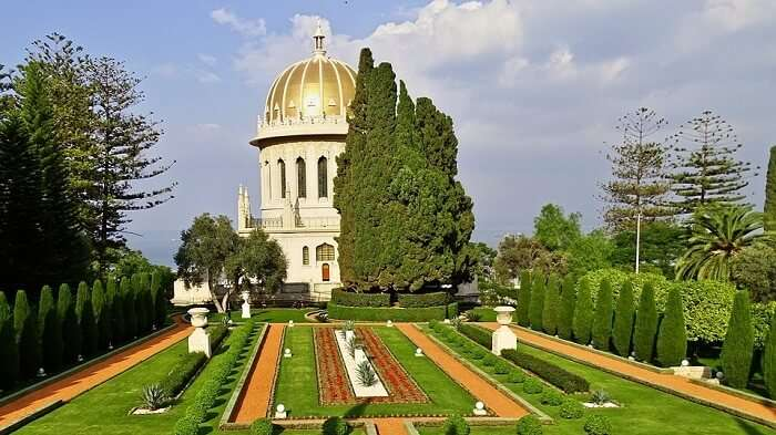Baha'i Shrine And Gardens