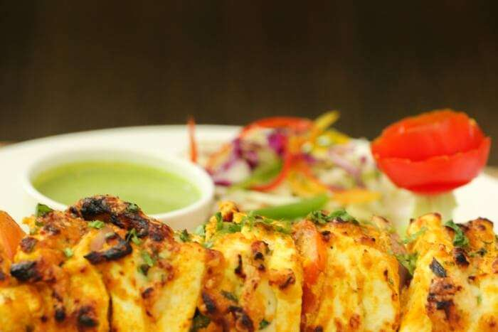 lip-smacking grilled food