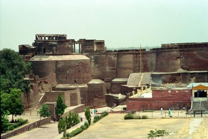 Bathinda Fort Architecture