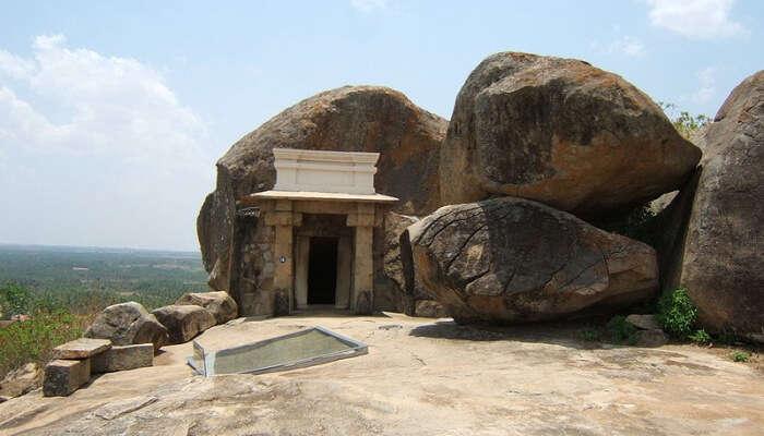 Bhadrabahu Cave In Shravanabelagola