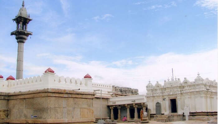 Chandragupta Basadi In Shravanabelagola