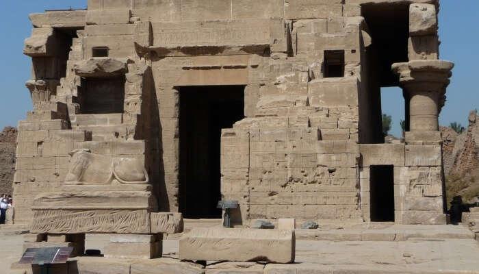 Dendara In Egypt