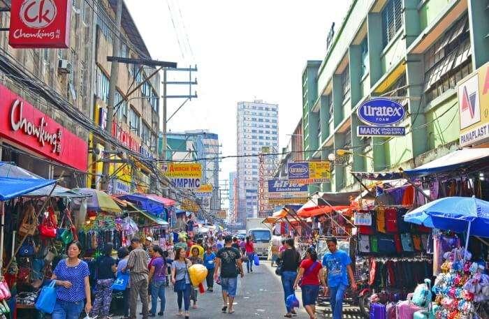 Divisoria Mall Market In Manila