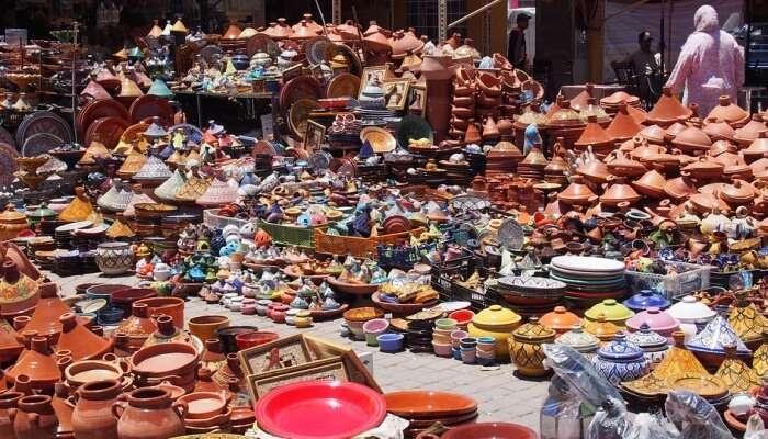 Dordoy Bazaar In Bishkek