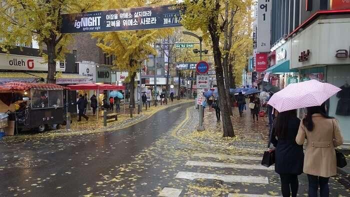 Ewha Women's University Shopping Street