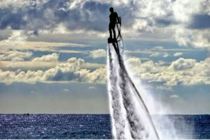 Flyboarding At Benoa