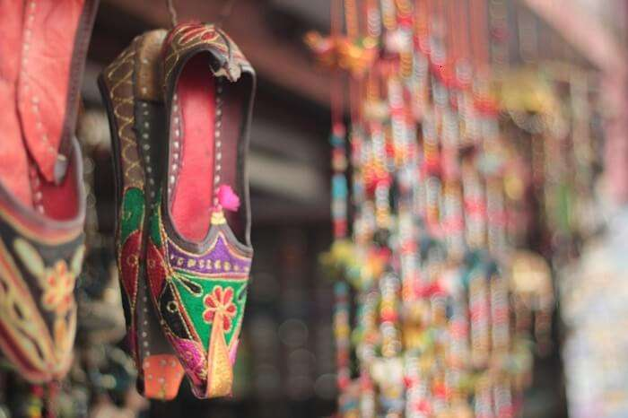 Fashion Indian Traditional Colorful Foot Wear