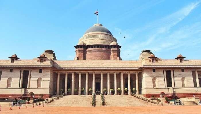 Rahtrapati Bhavan Delhi