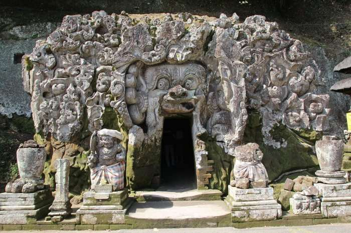 historic landmark in Bali