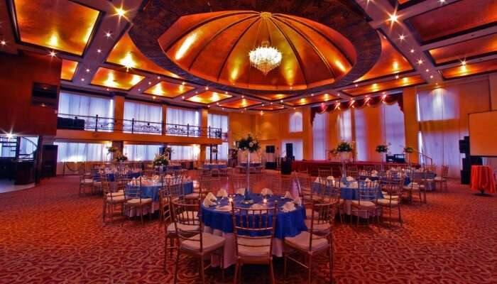 event hall in a hotel