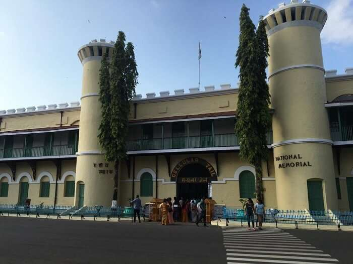 Visited to cellular jail