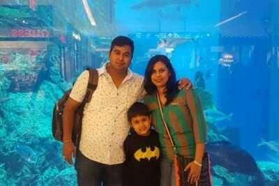 cover - Shweta's Family Trip To Dubai