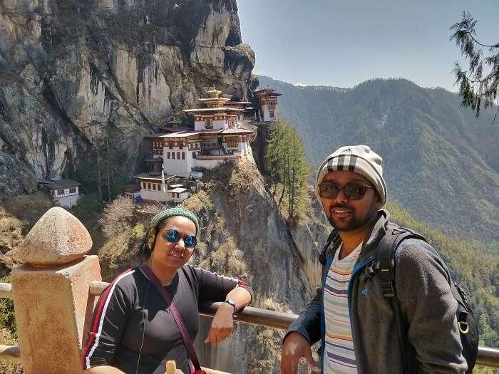 the Tiger's Nest Monastery