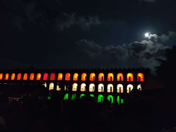 night show in cellular jail