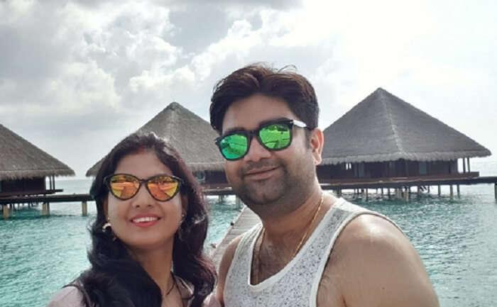 at the maldives villas