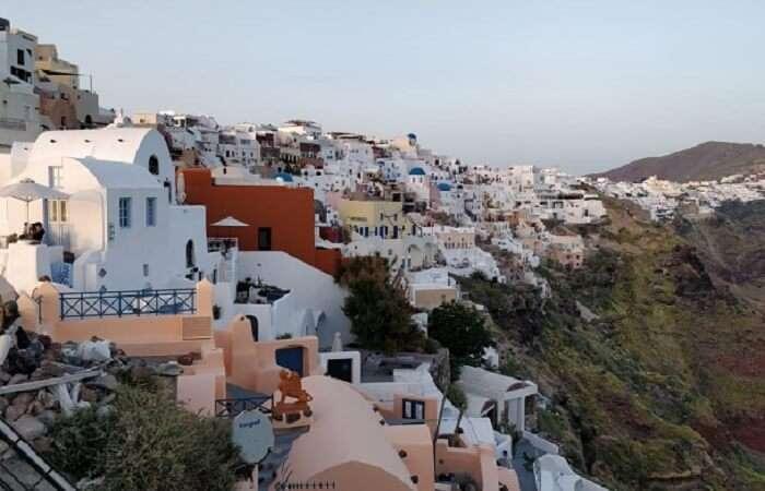 exploring the beauty of Santorini