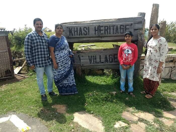 khasi heritage village