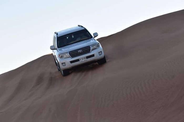 exploring desert safari