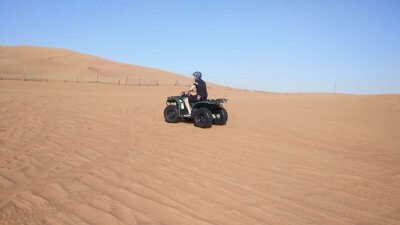 Ride at Desert