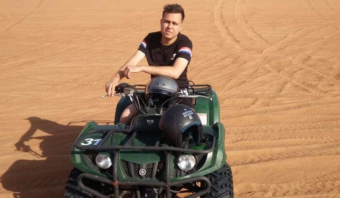 Fun at Desert safari