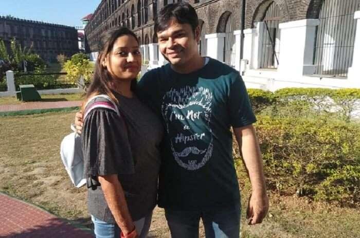 Cover - Taruni's honeymoon trip to Andaman