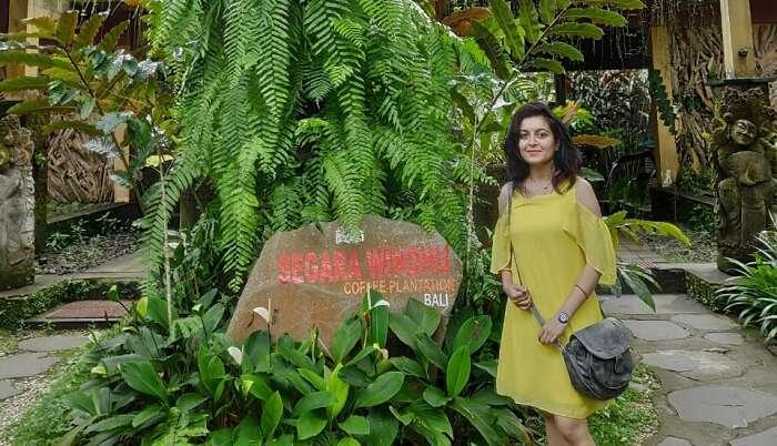 enjoyed the greenery all around