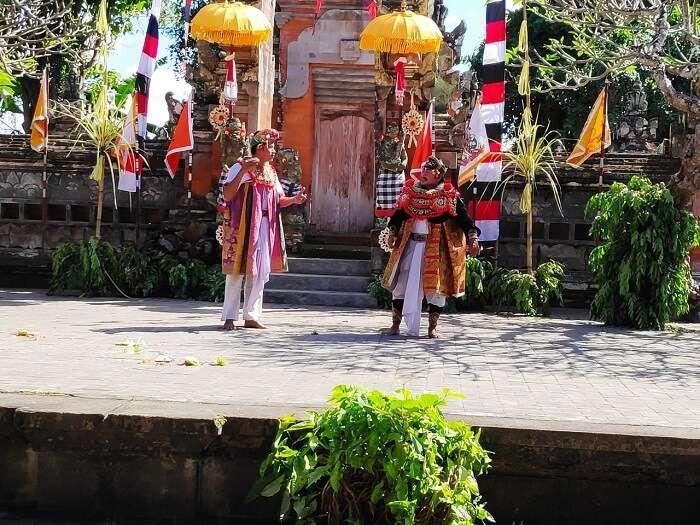 traditional dance of bali