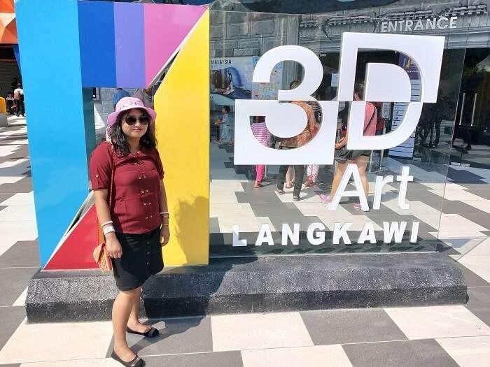 at Langkawi