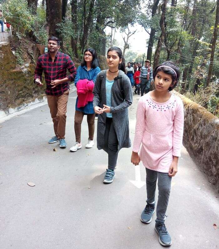 went to explore the darjeeling