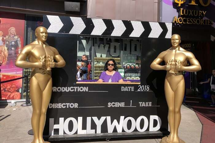 clicked the pictures in hollywood frame