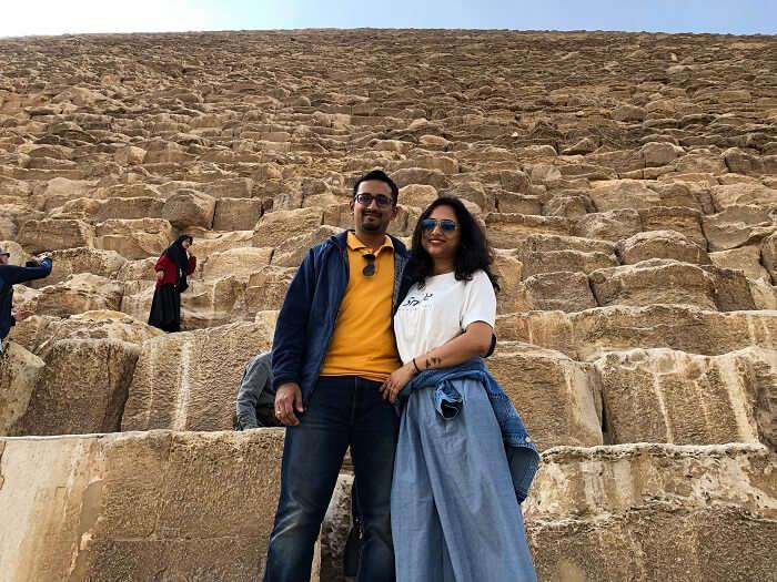 exploring the pyramids