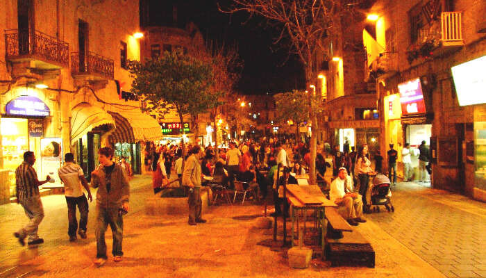 Jerusalem nightlife