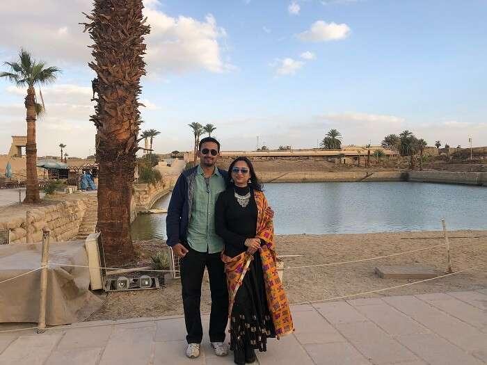 wonderful time at Karnak Temple