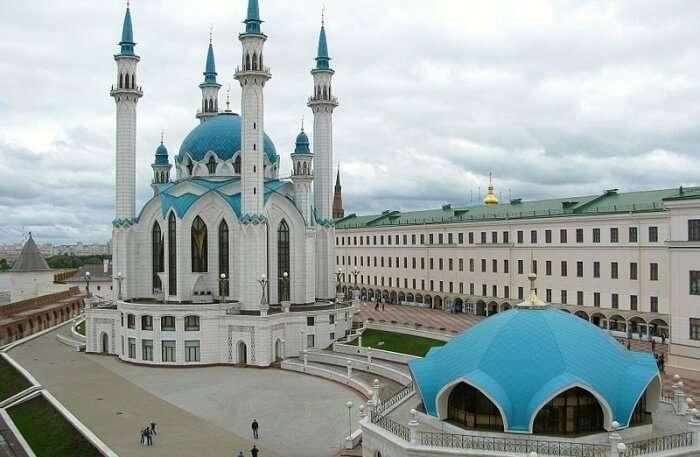 Kul Sharif Mosque View
