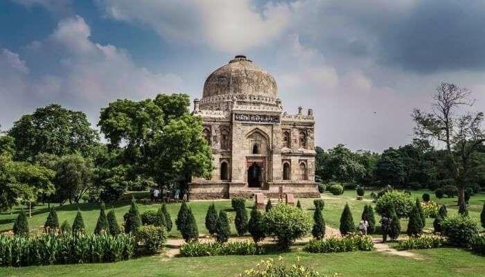 Monument in Lodhi Garden, Delhi