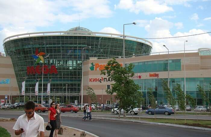 MEGA Silk Way In Astana