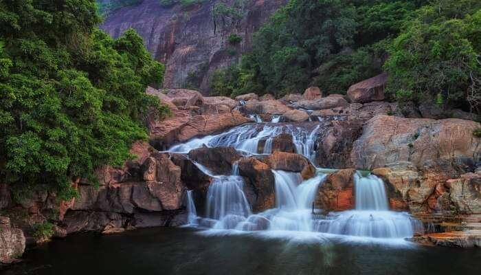 Marmala Waterfalls In Thekkady