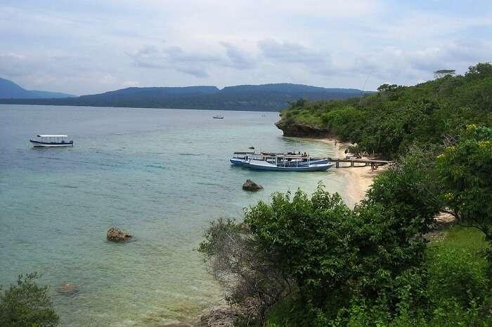 Menjangan Island in bali