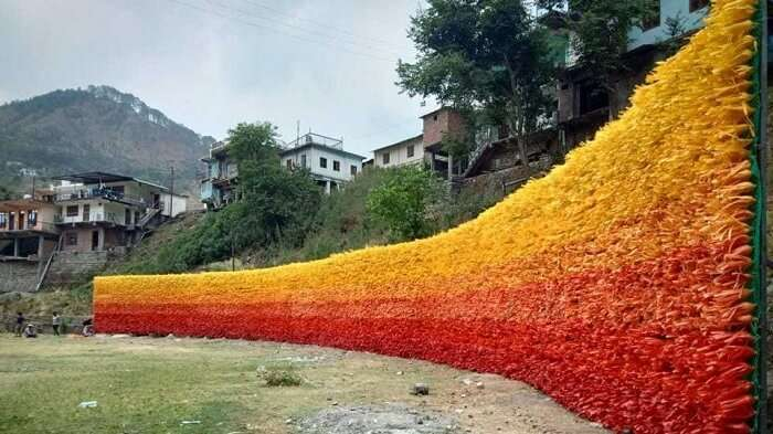 Mussoorie Builds Wall Of Hope