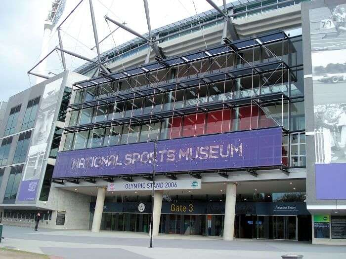 National Sports Museum in Australia