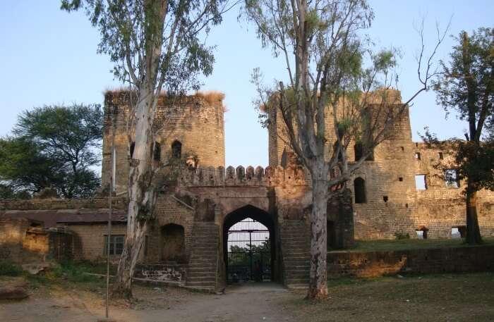 Nurpur Fort In Pathankot