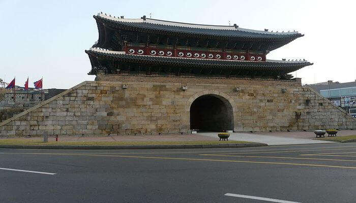 Paldalmun Gate In Suwon
