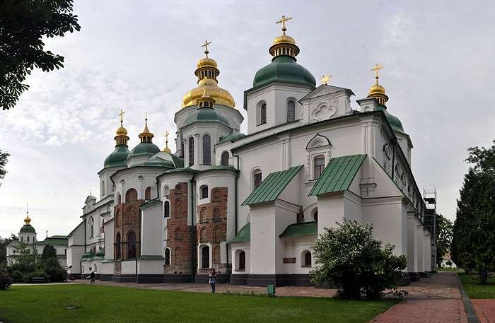 Saint Sophia Cathedral In Ukraine