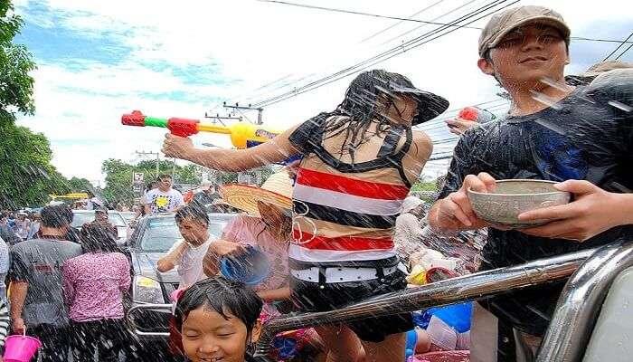 Sinchon Watergun Festival