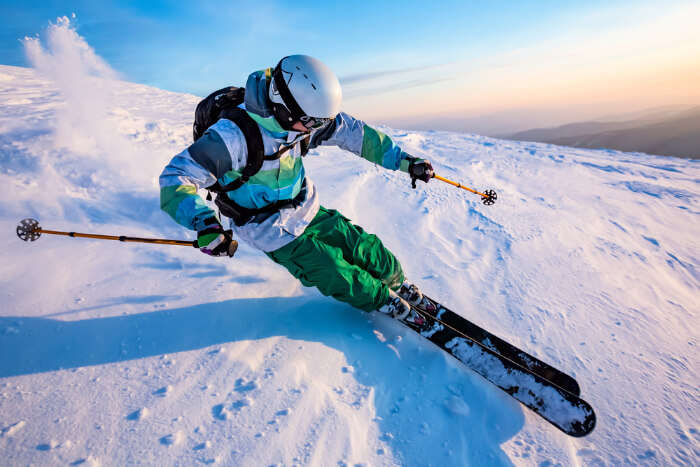 Skiing In Krasnaya Polyana