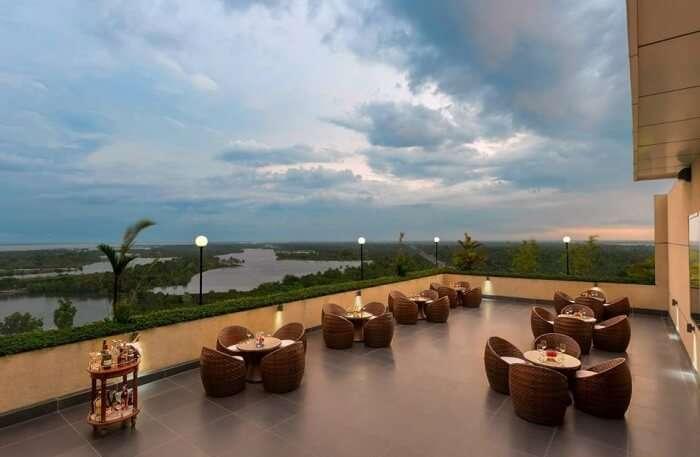 Sky Grill Lounge In Cochin
