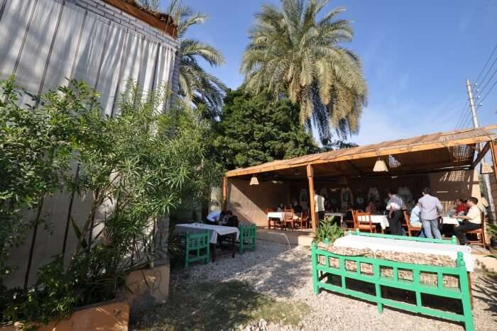 Small restaurant in Luxor
