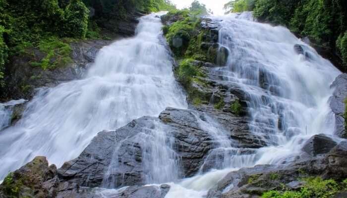 Suranganur Waterfalls View