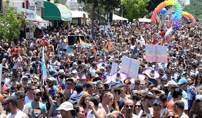 Tel Aviv LGBT pride parade 2015