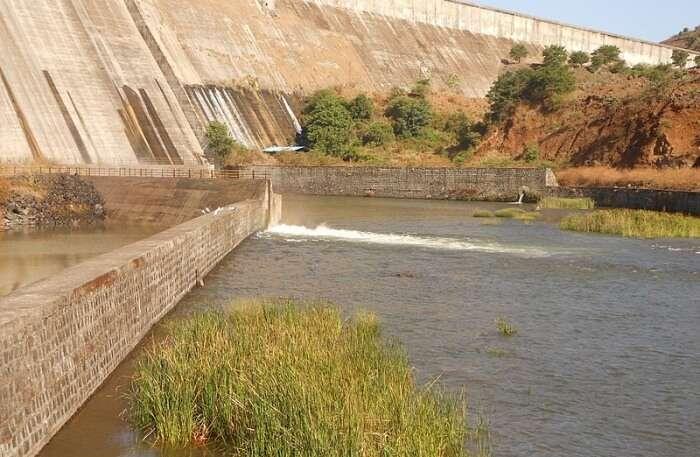 Temghar Dam In Lavasa